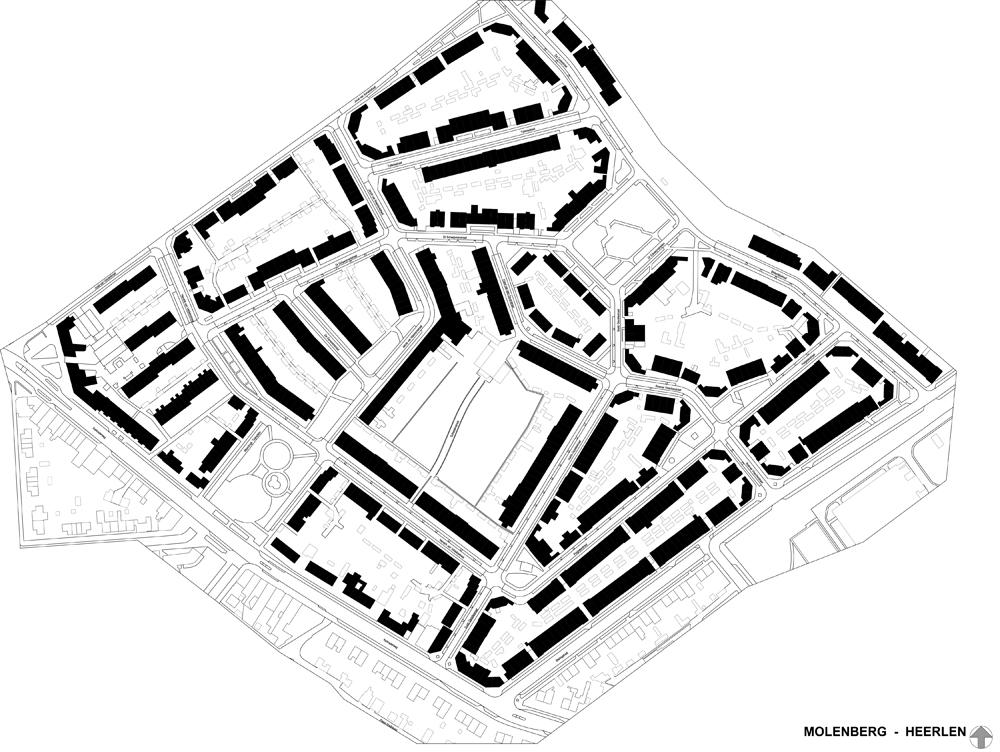 bouwhulpgroep situatiekaart molenberg Heerlen